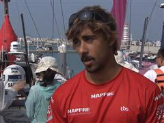 Leg 4 dock interview with Willy Altadill (ESP)