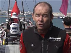 Leg 4 dock interview with Jean-Luc Nelias (FRA)