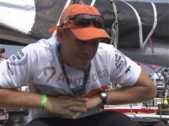 Leg 4 dock interview with Dave Swete (NZL)