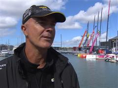 Pre-Leg 5 interviews with Bouwe Bekking (NED)