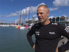 Pre-Leg 5 interviews with Gerd-Jan Poortman (NED)