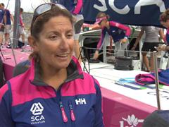 Pre-Leg 5 interview with Dee Caffari (GBR)