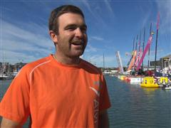 Pre-Leg 5 interview with Charlie Enright (USA)