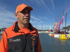 Pre-Leg 5 interview with Stu Bannatyne (NZL)