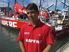 Pre-Leg 5 interview with Andre Fonseca (BRA)