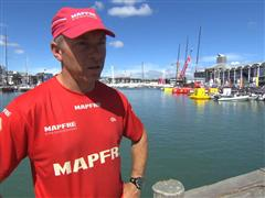 Pre-Leg 5 interview with Rob Greenhalgh (GBR)