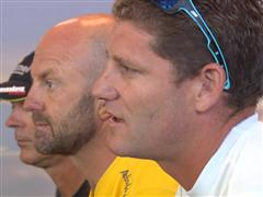 Leg 5 skippers' press conference - Cyclone Pam forces another delay to Leg 5 start