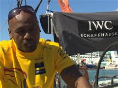 Jonah Lomu attends the New Zealand Herald In-Port Race Auckland