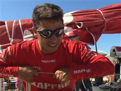 André Fonseca (BRA) - Post In-Port Race interview (PORT)