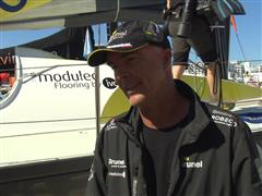 Bouwe Bekking (NED) - Post In-Port Race interviews (DUT/EN)