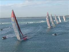 Leg 5 Start - Race's toughest leg is underway