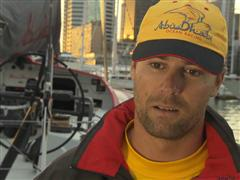 Leg 5 - Dock interview with Daryl Wislang (NZL)