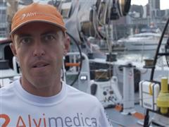Leg 5 - Dock interview with Alberto Bolzan (ITA)