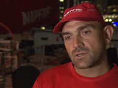 Leg 5 - Dock interviews with Xabi Fernandez (ESP)