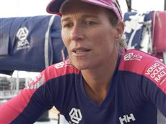 Leg 5 - Dock interviews with Carolijn Brouwer (NED)