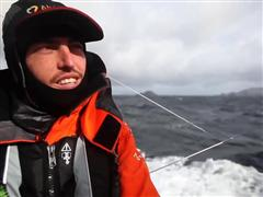 Interview in Italian with Alberto Bolzan at the Cape Horn