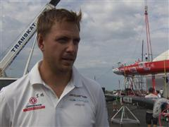 Pre-Leg 6 Interview with Martin Stromberg (SWE)