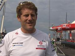 Pre-Leg 6 Interviews with Charles Caudrelier (FRA)