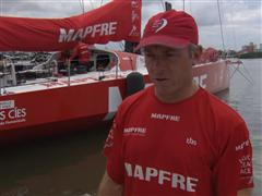 Pre-Leg 6 Interview with Rob Greenhalgh (GBR)