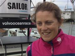 Pre-Leg 6 Interviews with Sam Davies (GBR)