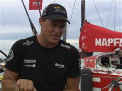 In-Port Race interview with Rokas Milevicius (LIT)