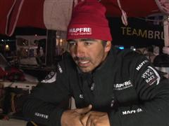 Leg 6 arrival interview with Andre Fonseca (BRA)