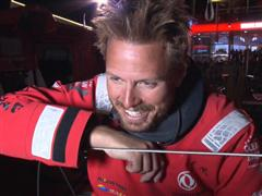 Leg 6 arrival interview with Martin Stromberg (SWE)