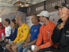 Leg 7 Skippers Press Conference