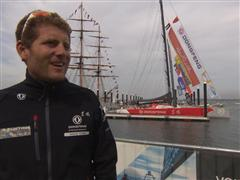 Pre-Leg 7 Interviews with Charles Caudrelier (FRA)