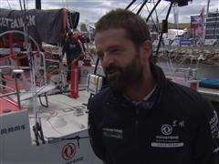 Pre-Leg 7 Interview with Pascal Bidegorry (FRA)