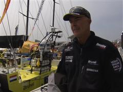 Pre-Leg 7 interviews with Bouwe Bekking (NED)