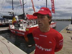 Pre-Leg 7 Interviews with Iker Martinez (ESP)