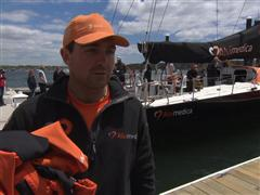 Pre-Leg 7 Interview with Charlie Enright (USA)