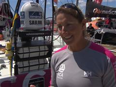 Pre-Leg 7  interview with Dee Caffari (GBR)