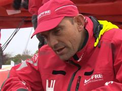 Leg 7 In-Port Race Victory Interviews with Xabi Fernandez (ESP)