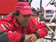 Leg 7 In-Port Race Victory Interviews with Iker Martinez (ESP)