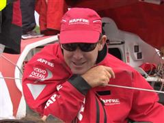 Leg 7 In-Port Race Victory Interview with Jean-Luc Nelias (FRA)