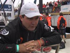 Leg 7 In-Port Race 2nd Place Interview with Charlie Enright (USA)