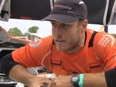 Leg 7 In-Port Race 2nd Place  Interview with Nick Dana (USA)