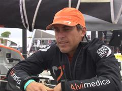 Leg 7 In-Port Race 2nd Place Interview with Alberto Bolzan (ITA)