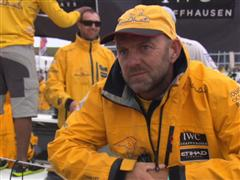 Leg 7 In-Port Race Podium Interview with Ian Walker (GBR)
