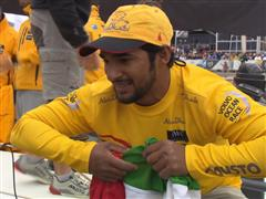Leg 7 In-Port Race Podium Interview with Adil Khalid (UAE)