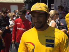 Leg 7 start dock Interview with Adil Khalid (UAE)