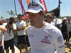 Leg 7 start dock interviews with Charles Caudrelier (FRA)
