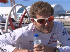Leg 7 arrival interviews with Charles Caudrelier (FRA)