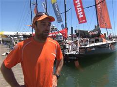 Pre-Leg 8 Interview with Seb Marsset (FRA)