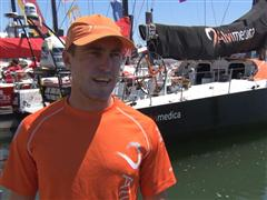 Pre-Leg 8 Interview with Alberto Bolzan (ITA)
