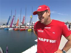 Pre-Leg 8 Interview with Jean-Luc Nelias (FRA)