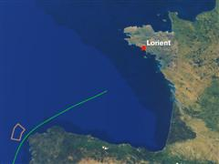Leg 8 Route animation and overall presentation