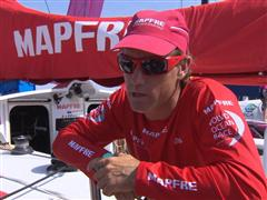 In-Port Race Win Interviews with Iker Martinez (ESP)